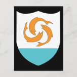 Anguilla Coat Of Arms Postcard