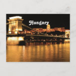 Bridge in Hungary Postcard