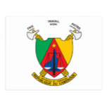 Cameroon Coat Of Arms Postcard