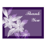 Floral Art Business Thank You Postcards
