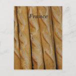 France - French Bread Postcard