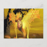 Golden Dragon Postcard