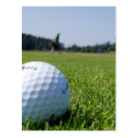 Golf Fairway Postcard