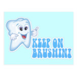 Keep On Brushing! Postcard