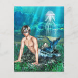 Merman Postcard