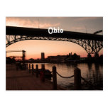 Ohio Sunset Postcard