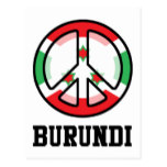 Peace In Burundi Postcard