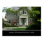Real Estate Postcards Green Formal House