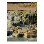 Saturnia Natural Hot Springs Postcard