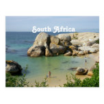 South African Coast Postcard