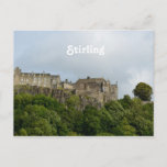 Stirling Castle Scotland Postcard