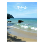 Tobago Beach Postcard