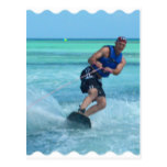 Wakeboarding in the Tropics Postcard